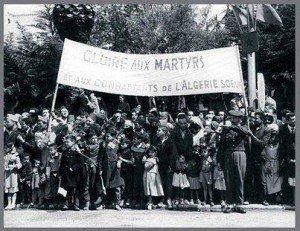 oujda manifestation in dépendance Algérie 62